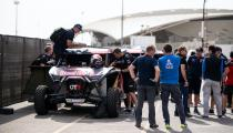 Red Bull Off-Road Team USA is seen during the technical verifications for Rally Dakar 2020 in Jeddah, Saudi Arabia on January 04, 2020 // Marcelo Maragni/Red Bull Content Pool // AP-22PRUW5CN1W11 // Usage for editorial use only //