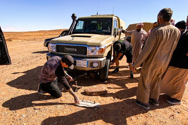 2020 Dakar Rally Stage 5 Al Ula And Hail 1