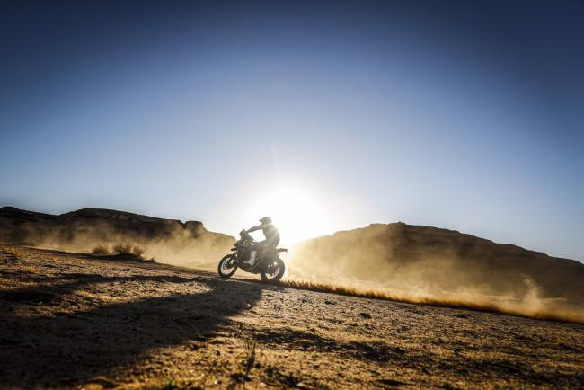 22 Caimi Franco (arg), Yamaha, Yamalube Yamaha Official Rally Team, Moto, Bike, action during Stage 5 of the Dakar 2020 between Al Ula and Ha'il, 563 km - SS 353 km, in Saudi Arabia, on January 9, 2020 - Photo Frederic Le Floc'h / DPPI