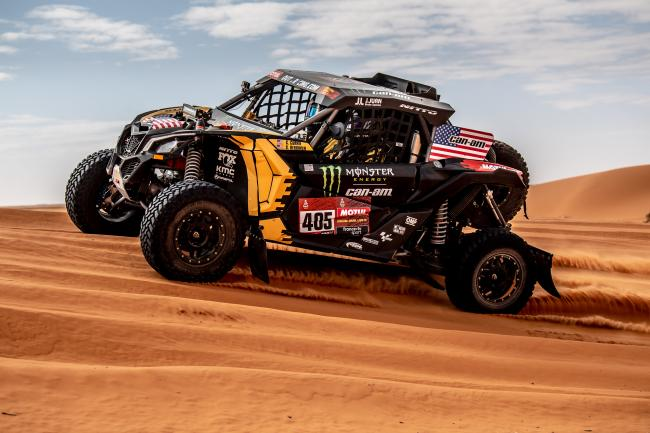 2020 Dakar Rally Stage 6 Ha il to Riyadh Casey Currie MCH Photo