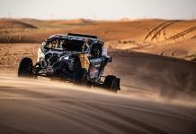 2020 Dakar Rally Stage 6 Ha il to Riyadh Casey Currie MCH Photo