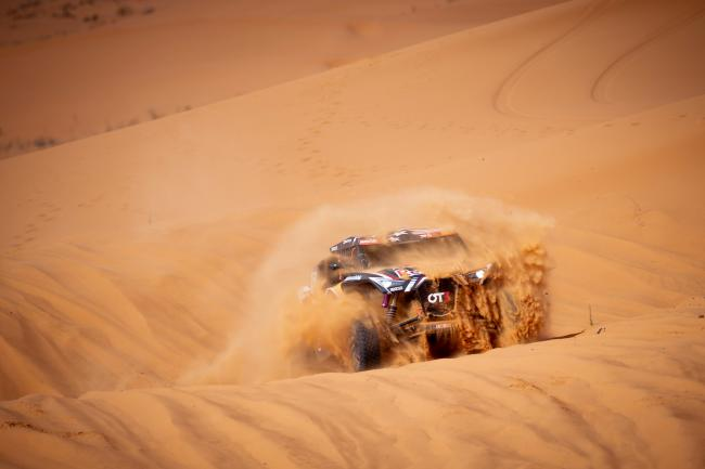 Mitch Guthrie at stage 6 of the 2020 Dakar Rally