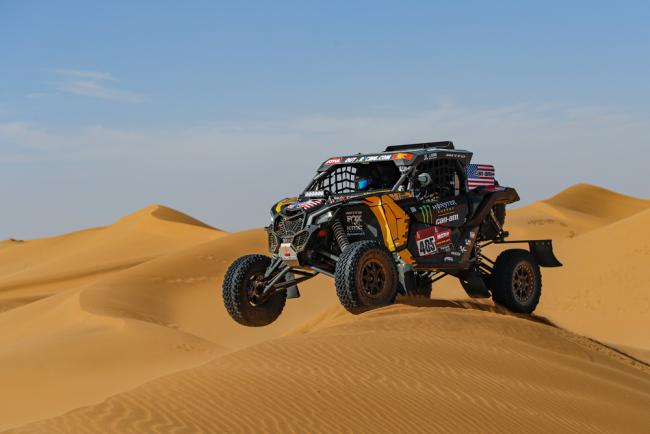405 Currie Casey (usa), Berriman Sean (usa), Can - Am, Monster Energy Can-Am, SSV, Motul, action during Stage 7 of the Dakar 2020 between Riyadh and Wadi Al-Dawasir, 741 km - SS 546 km, in Saudi Arabia, on January 12, 2020 - Photo Florent Gooden / DPPI
