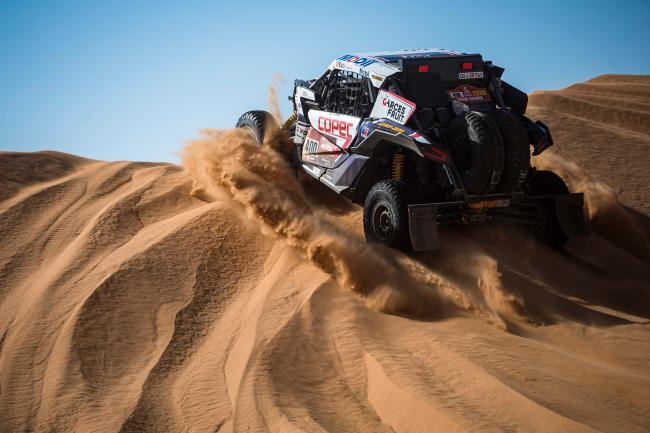 Francisco Chaleco Lopez at the 2020 Dakar Rally Stage 7