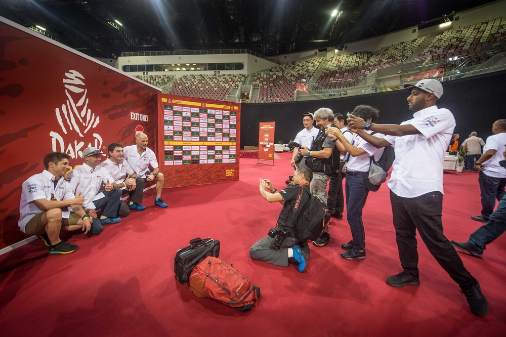 Dakar 2020's Administrative and Technical scrutineering in Jeddah, Saudi Arabia from January 2 to 4, 2020 - Photo Gustavo Epifanio / FOTOP