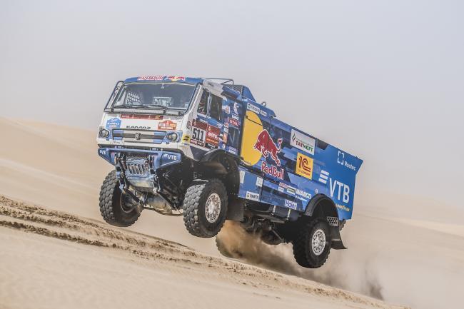 Andrey Karginov (RUS), of KAMAZ – Master races during stage 10 of Rally Dakar 2020 from Harad to Shubaytah, Saudi Arabia on January 15, 2020.