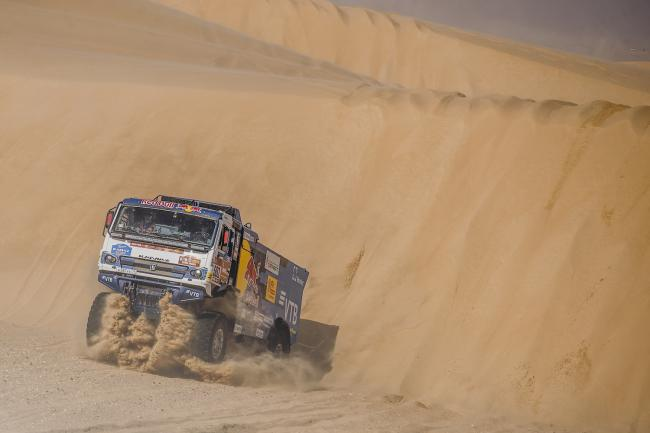 Dmitry Sotnikov (RUS), of KAMAZ – Master races during stage 10 of Rally Dakar 2020 from Harad to Shubaytah, Saudi Arabia on January 15, 2020.