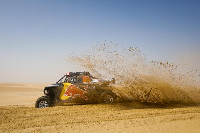 412 Guthrie Mitchell (usa), Floene Ola (nzl), OT3, Red Bull Offraod Team USA, SSV, action during Stage 10 of the Dakar 2020 between Haradh and Shubaytah, 608 km - SS 534 km, in Saudi Arabia, on January 15, 2020 - Photo Frederic Le Floc'h / DPPI