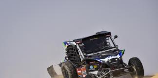 433 Navarro Santiago (esp), Sola Terradellas Marc (esp), Can-Am, FN Speed Team, SSV, action during Stage 10 of the Dakar 2020 between Haradh and Shubaytah, 608 km - SS 534 km, in Saudi Arabia, on January 15, 2020 - Photo DPPI