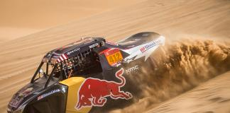 Mitch Guthrie Jr at Stage 8 of the 2020 Dakar Rally