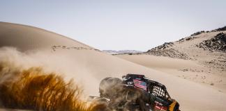 405 Currie Casey (usa), Berriman Sean (usa), Can - Am, Monster Energy Can-Am, SSV, Motul, action during Stage 8 of the Dakar 2020 between Wadi Al-Dawasir and Wadi Al-Dawasir, 713 km - SS 474 km, in Saudi Arabia, on January 13, 2020 - Photo Francois Flamand / DPPI