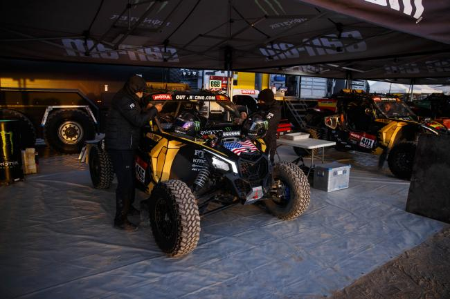 2020 Dakar Rally Stage 8 SSV Leader Casey Currie