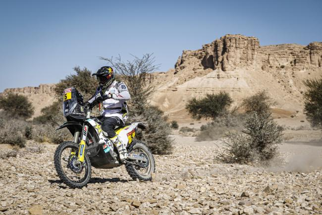 05 Quintanilla Pablo (chl), Husqvarna, Rockstar Energy Husqvarna Factory Racing, Moto, Bike, action during Stage 9 of the Dakar 2020 between Wadi Al-Dawasir and Haradh, 891 km - SS 415 km, in Saudi Arabia, on January 14, 2020 - Photo Frederic Le Floc'h / DPPI