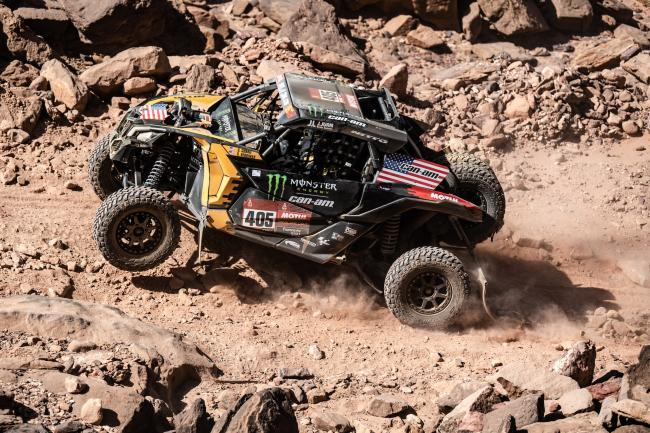 Casey Currie stage 9 at the 2020 Dakar Rally