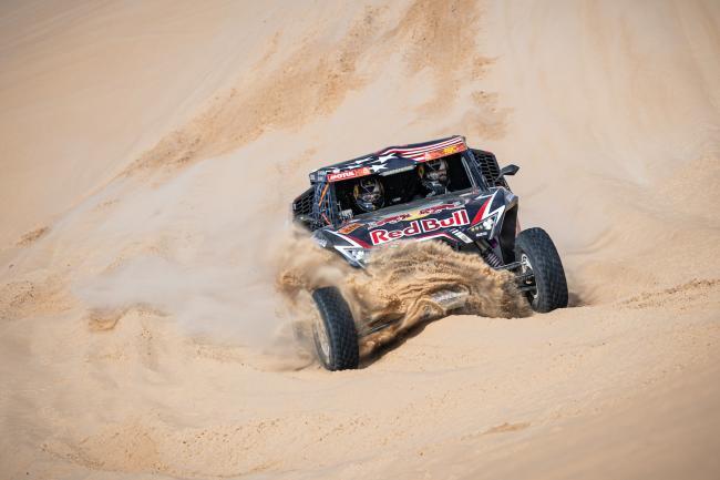 Blade Hildebrand (USA) of Red Bull Off-Road Team USA Rally Dakar 2020