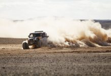 Casey Currie at stage 11 of the 2020 Dakar Rally