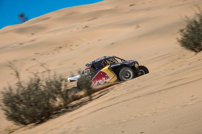 Blade Hildebrand races during stage 01 of Rally Dakar 2020 from Jeddah to Al Wajh, Saudi Arabia on January 05, 2020 // Marcelo Maragni/Red Bull Content Pool // AP-22Q2ZUXNN1W11 // Usage for editorial use only //