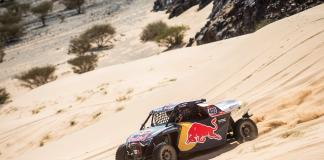 Cyril Despres (FRA) of Red Bull Off-Road Team USA races during stage 01 of Rally Dakar 2020 from Jeddah to Al Wajh, Saudi Arabia on January 05, 2020 // Marcelo Maragni/Red Bull Content Pool // AP-22Q2ZTR9D1W11 // Usage for editorial use only //