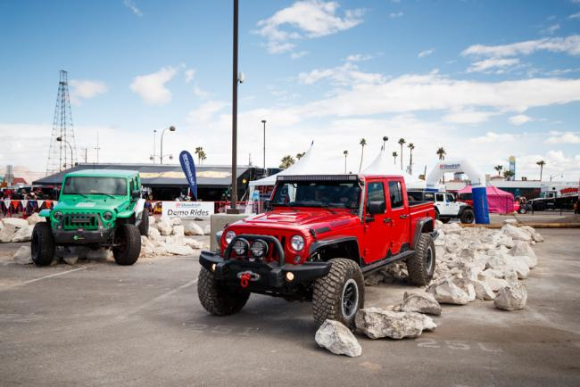 BFGoodrich display at the Mint 400
