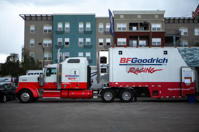 BFGoodrich Pit Support Truck at the Mint 400