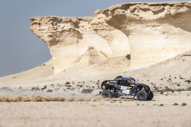 2020 Qatar Cross Country Rally Austin Jones Win Two Stages2
