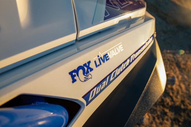 Honda Talon 1000 FOX Live Valve Detail Decal