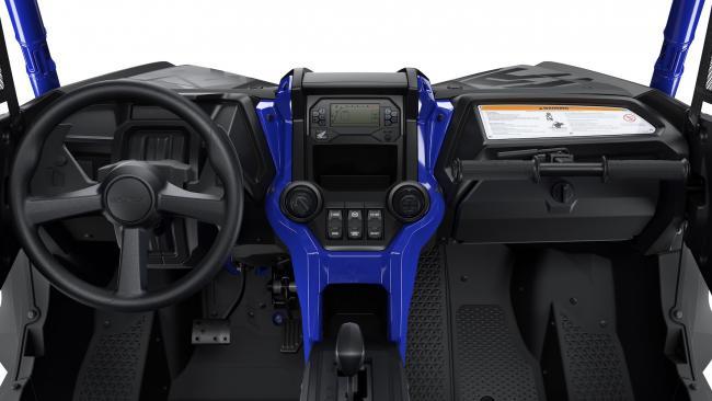 Honda Talon 1000 FOX Live Valve Detail Interior