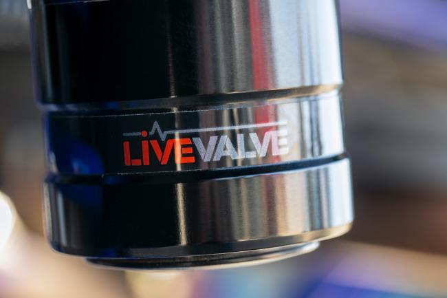 Honda Talon 1000 FOX Live Valve Detail Shock