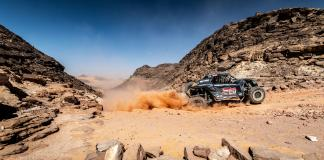 Austin Jones at the 2020 Manateq Qatar Cross Country Rally