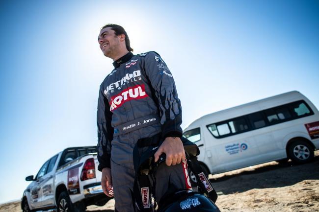 Austin Jones to race at the 2020 Manateq Qatar Cross Country Rally