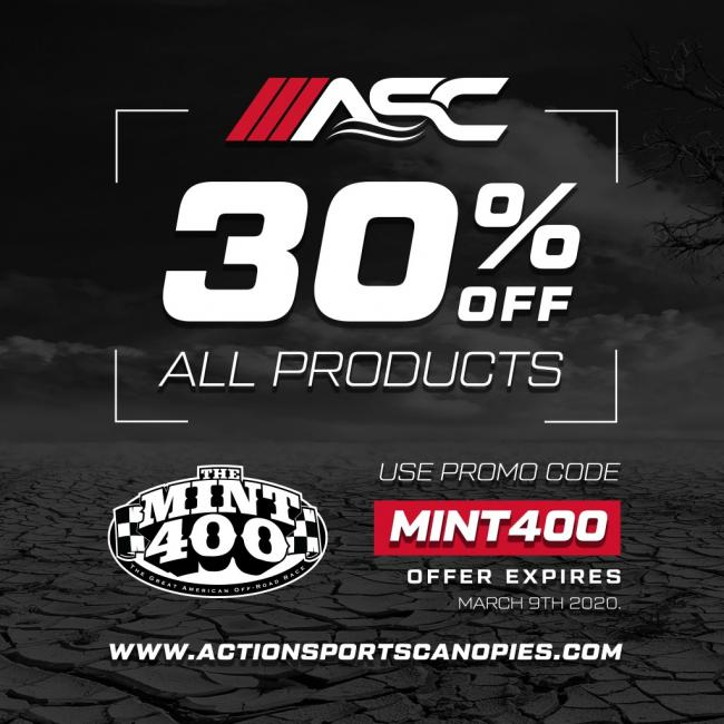 action sports canopies joins mint 400 sponsor family4