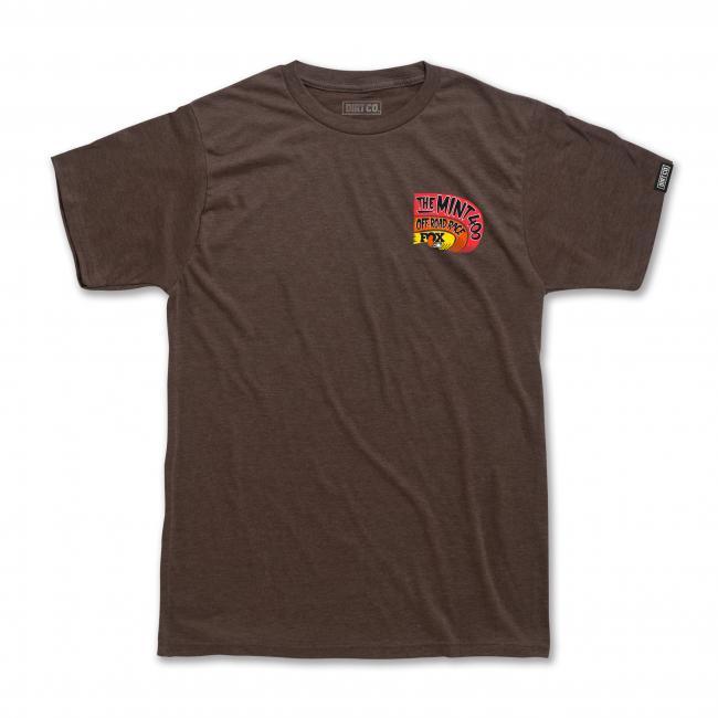 2020 fox mint 400 shirt brwn frnt