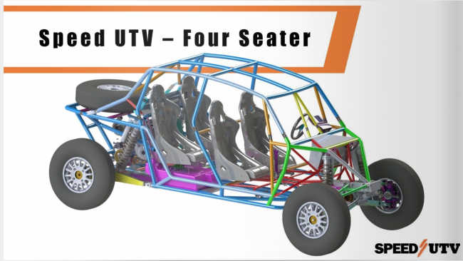 2021 speed UTV 4 seater preview