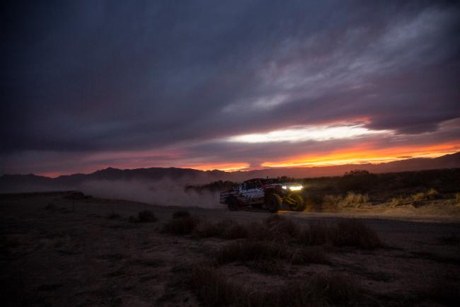Honda off road racing team takes on the mint 400 2