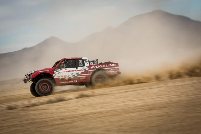 Honda off road racing team takes on the mint 400 3