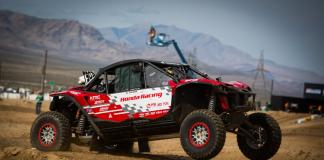 Honda off road racing team takes on the mint 400