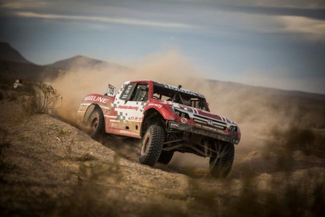 Honda off road racing team takes on the mint 400 4