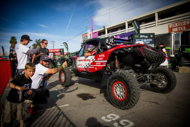 Honda off road racing team takes on the mint 400 5