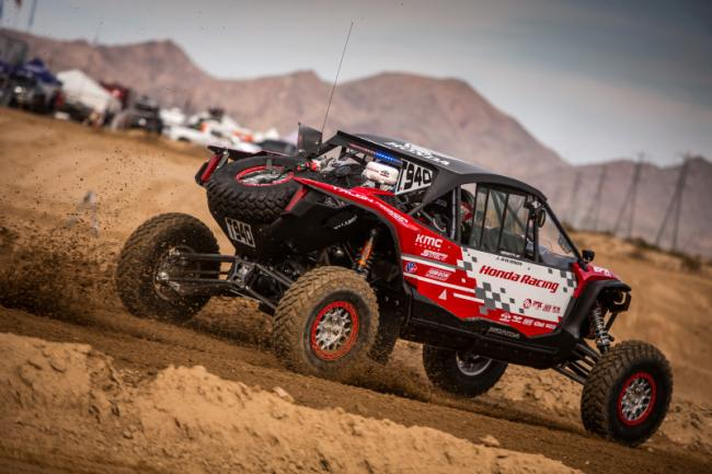 Honda off road racing team takes on the mint 400 6