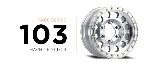 Method Race wheels 103 Race Series Machined