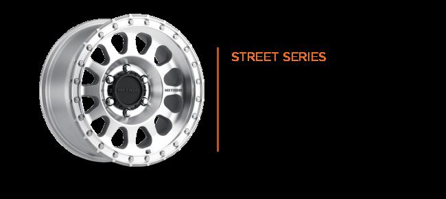 Method Race wheels 401 R UTV Series High Offset Machined