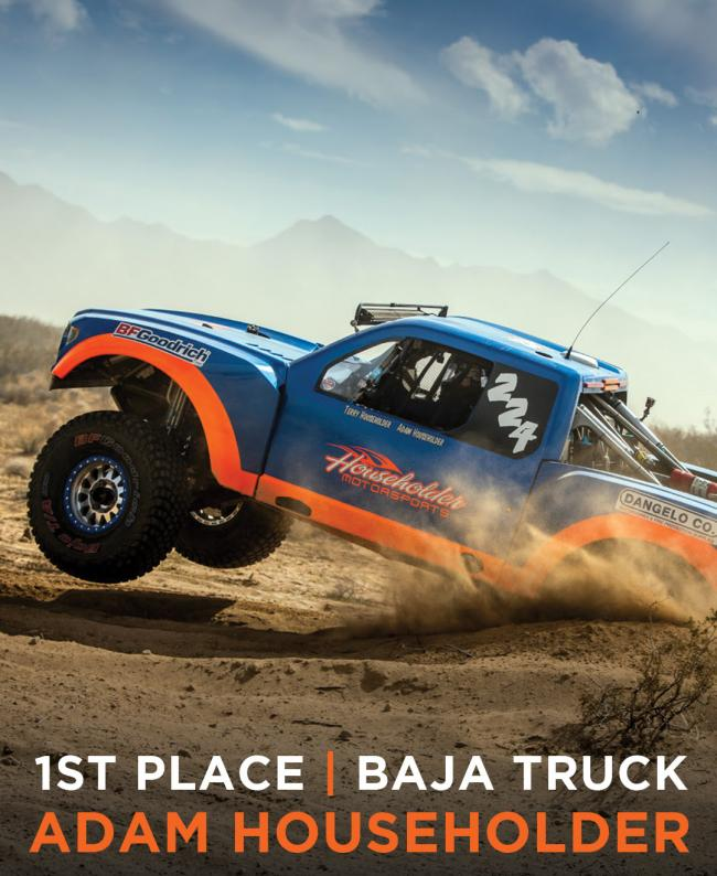 Method Race wheels First Place Baja Truck Adam HouseHolder