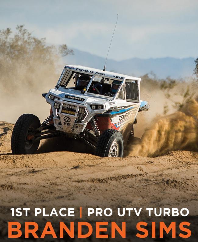 Method Race wheels First Place Pro UTV Turbo Branden Sims