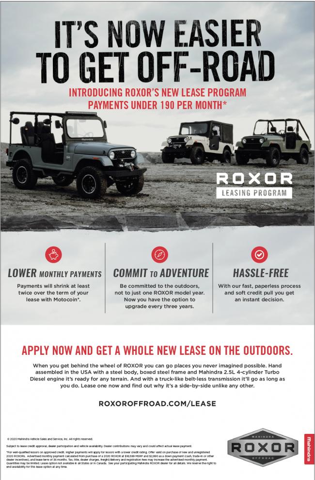 ROXOR Lease Program Details
