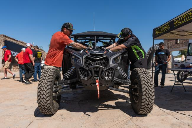 Sonora Rally Tech and Registration 50