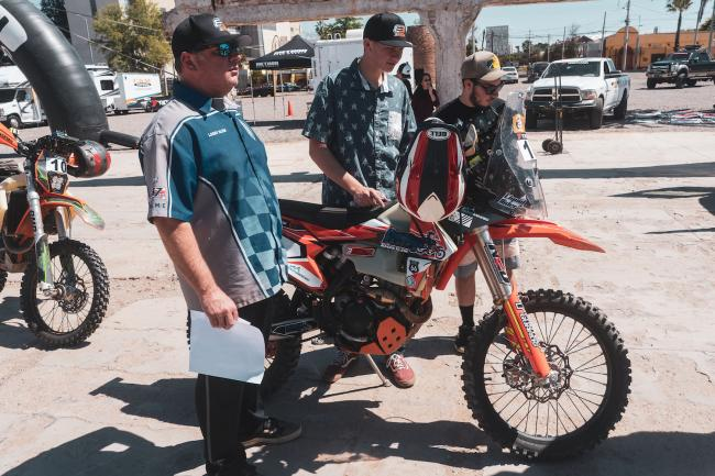 Sonora Rally Tech and Registration 69