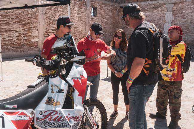 Sonora Rally Tech and Registration 70