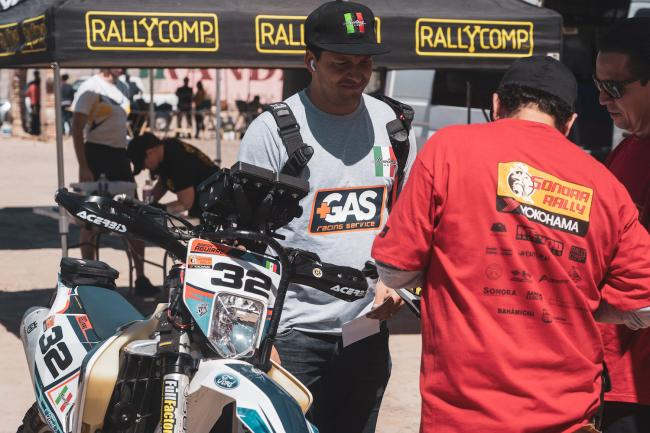 Sonora Rally Tech and Registration 72