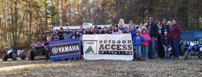 Yamaha Outdoor Access Initiative Awards Over 400000 in 2019 2