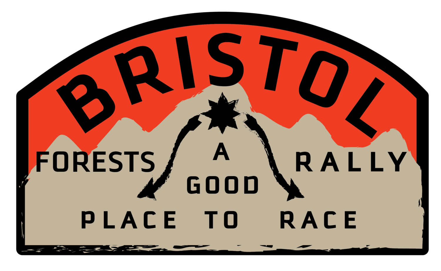 bristol forests rally logo